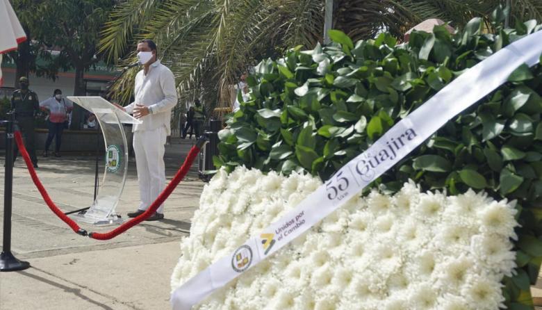 La Guajira celebró sus 55 años de vida administrativa