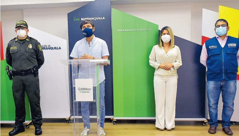 Barranquilla alista fase de reactivación económica