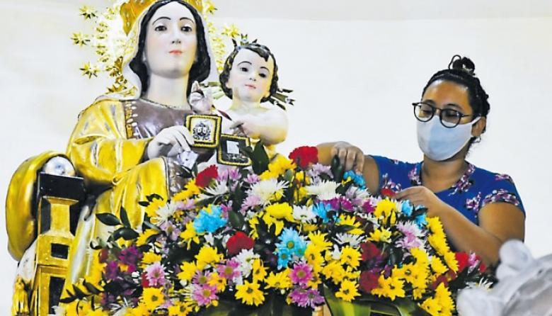La COVID-19 reta la devoción hacia la Virgen del Carmen