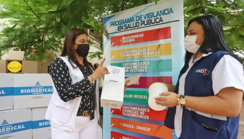 En video   Donan a Cartagena 400 biopack para transportar muestras COVID-19