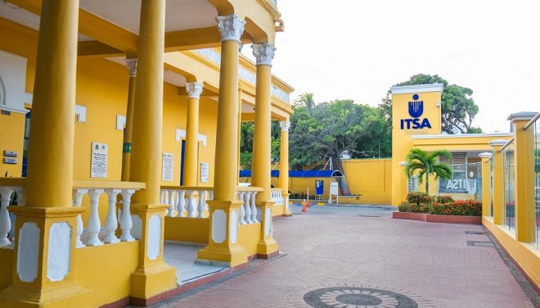 Aspecto de la sede del Itsa en Barranquilla.