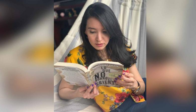 La autora del libro estudió periodismo para investigar la muerte de su papá.