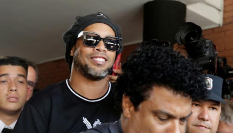 Ronaldinho, próximo a obtener libertad tras seis meses de reclusión