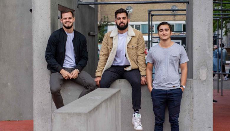 Camilo Fernández, Alejandro Franco y Juan Medina, los barranquilleros detrás de Kaffe Bueno.