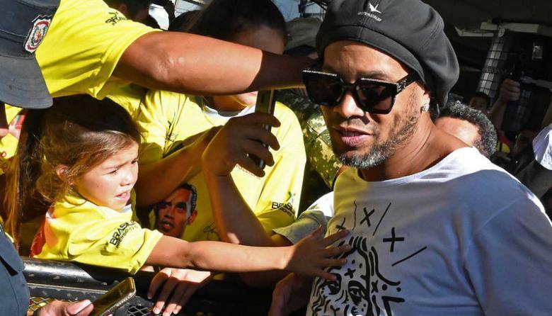 En 15 días será la audiencia que puede decretar liberación de Ronaldinho