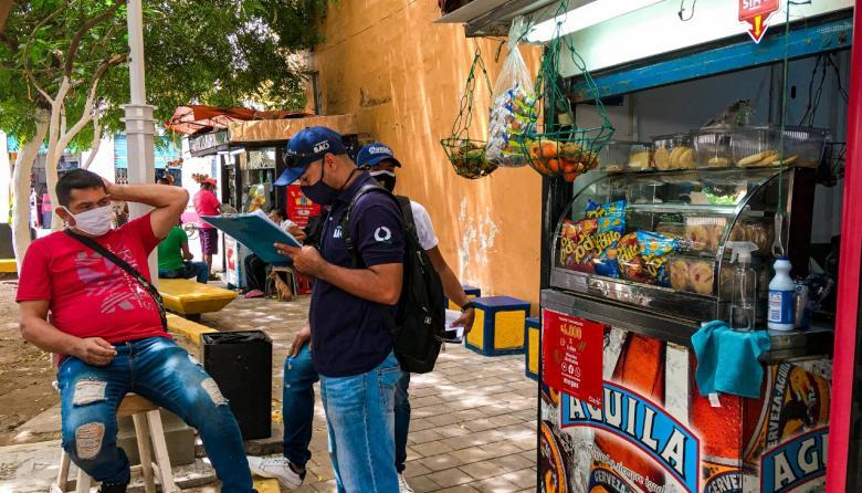 Distrito comienza reapertura del comercio informal