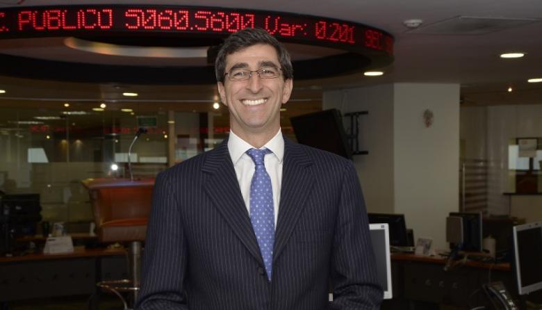 El presidente de BVC, Juan Pablo Córdoba.