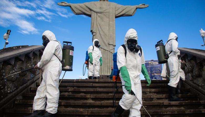 El Cristo Redentor reabre sus puertas en Río tras cinco meses