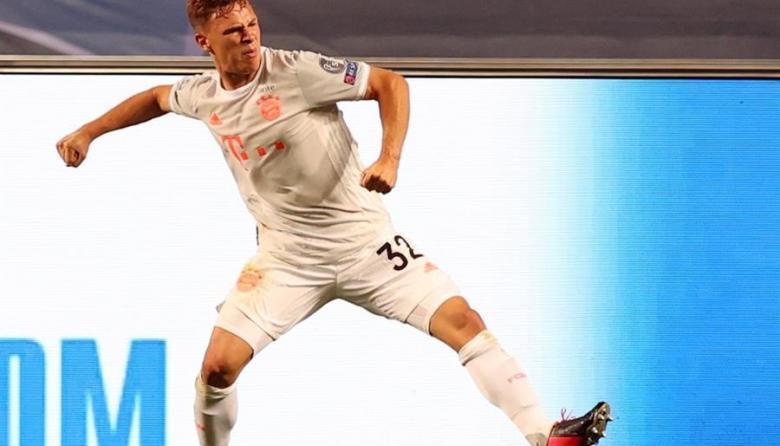 Joshua Kimmich es férreo titular en la contención del Bayern Múnich.