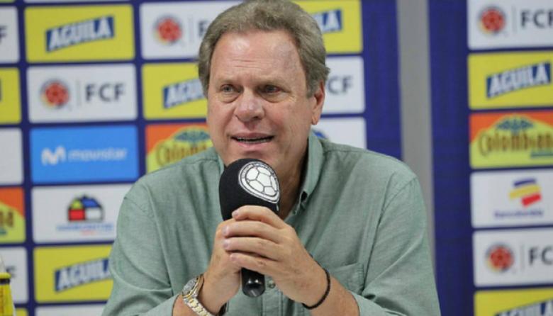 Ramón Jesurun, presidente de la Federación Colombiana de Fútbol.