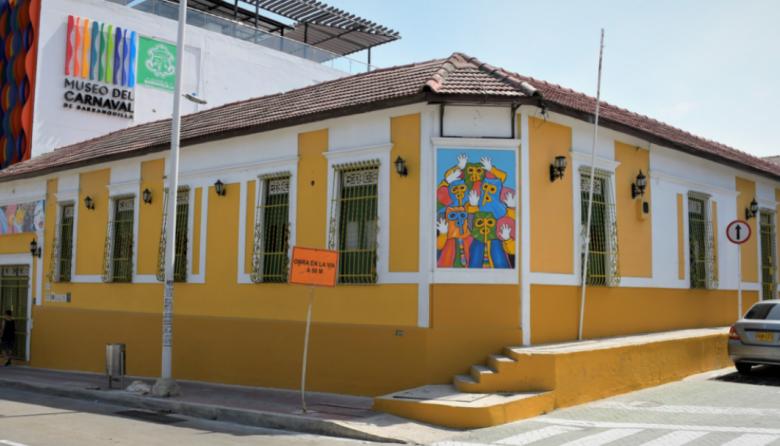 """Casa del Carnaval en Barrio abajo, nombrado """"Área de Desarrollo Naranja""""."""