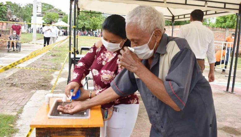 En el municipio de San Zenón se aplicaron todos los protocolos de bioseguridad.