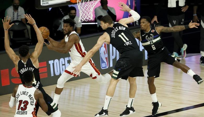 Butler vuelve a sentenciar y Heat se ponen 2-0 sobre Bucks