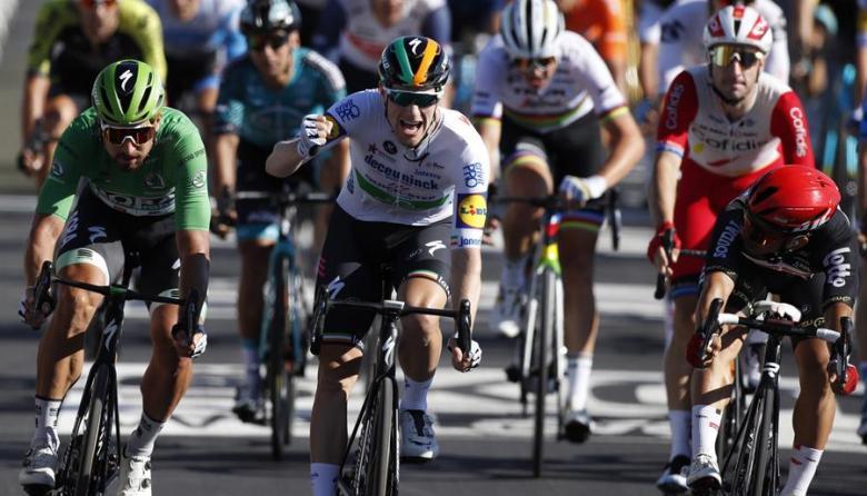 Sam Bennett ganó la décima etapa del Tour; no hubo cambios en la general