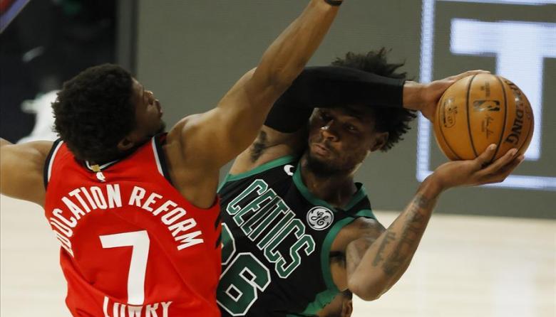 Raptors vuelven a sobrevivir; Clippers se acercan a la final en el Oeste