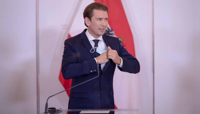 Sebastian Kurz, canciller austriaco.
