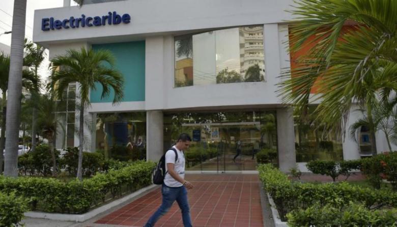 Sede de Electricaribe ubicada en el norte de Barranquilla.