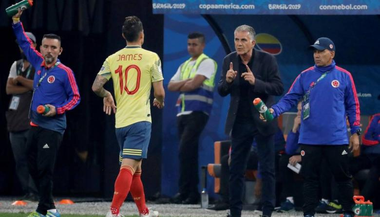 Carlos Queiroz podrá contar con las figuras de la Selección Colombia que juegan en Europa.