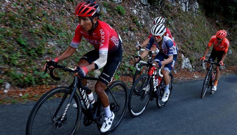 'Supermán' López amaga en el Tour y Quintana pierde un puesto