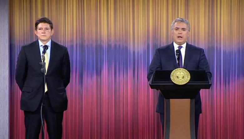 Exmagistrado Wilson Ruiz es el nuevo ministro de Justicia