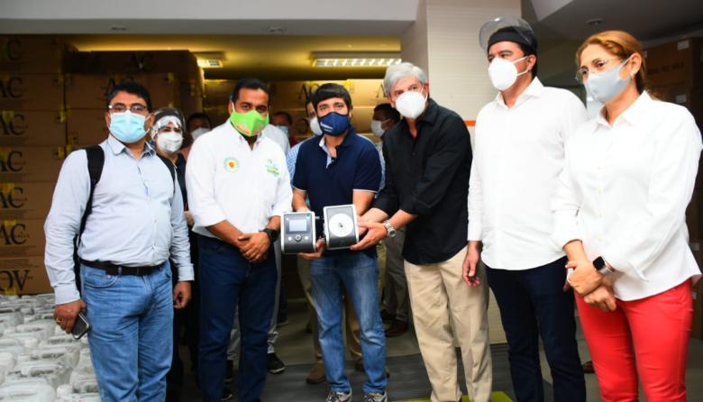 Barranquilla recibe cuarta donación por parte de Emiratos Árabes Unidos