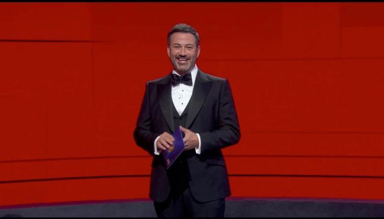 Jimmy Kimmel durante la coducción de la gala.