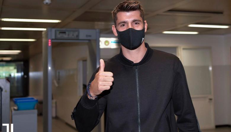Álvaro Morata llegó a Turín para cerrar su paso a la Juventus.