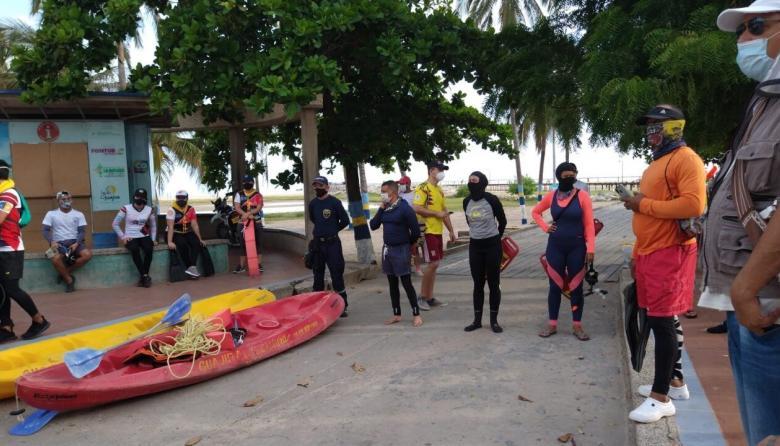 750 kilos de residuos se extrajeron de las playas en Riohacha