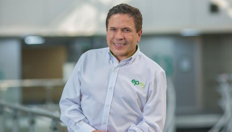 El gerente general de EPM, Álvaro Guillermo Rendón.