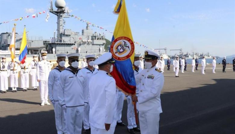Colombia recibe una nueva corbeta, la ARC Tono, de manos de Corea del Sur
