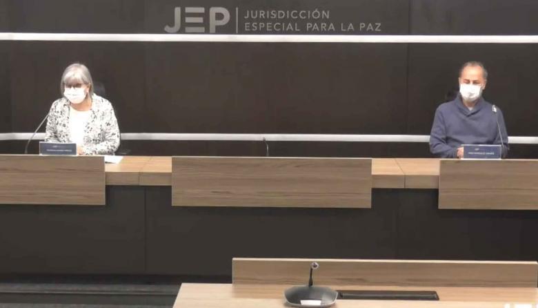 La presidente de la JEP, Patricia Linares, anunció este sábado la responsabilidad que asumieron ex-FARC.