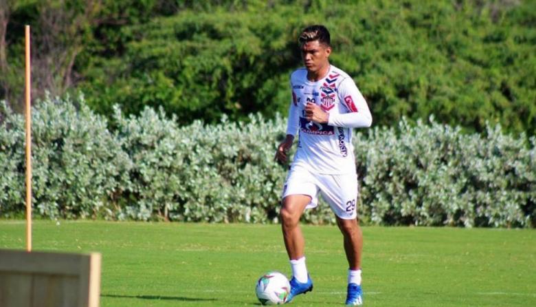 Teófilo Gutiérrez, delantero de Junior que reaparecerá en la titular.