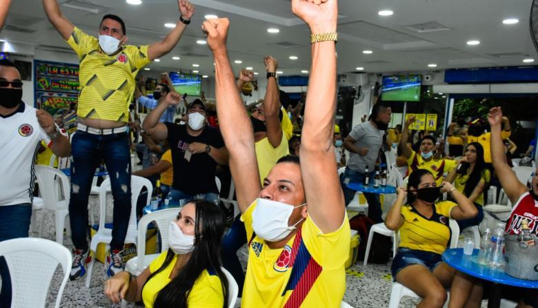 En video | Una celebración atípica por el triunfo de la 'Tricolor'