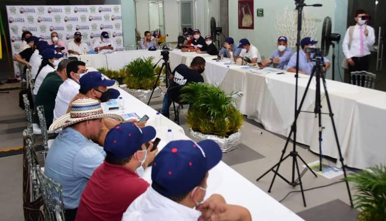 Cumbre de Alcaldes en Ciénaga para el progreso del Magdalena