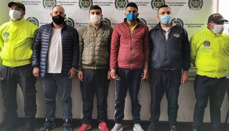 Golpe de Fiscalía y Policía a 5 bandas delincuenciales en Bogotá