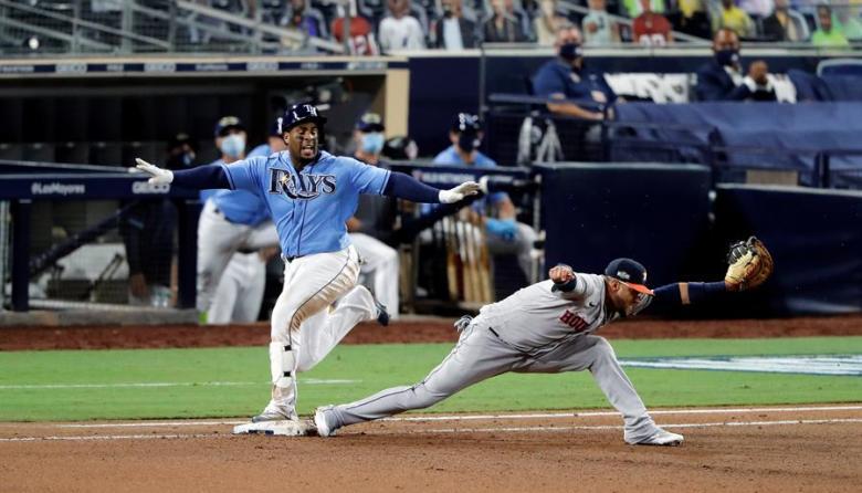 En video | Los Rays pegan primero ante Astros en duelo de pitcheo
