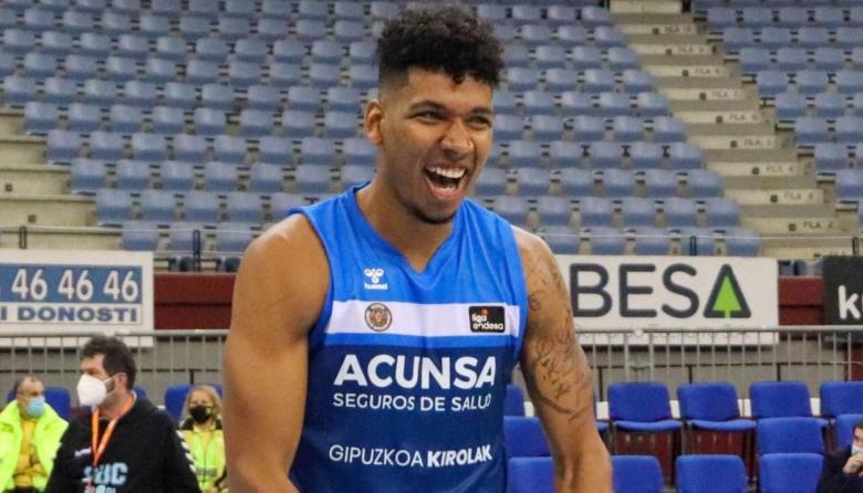 El barranquillero Jaime Echenique lideró el triunfo del Gipuzkoa Basket