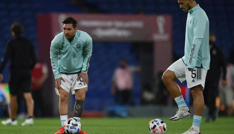 Lionel Messi jugará con Argentina en la altura de Bolivia.
