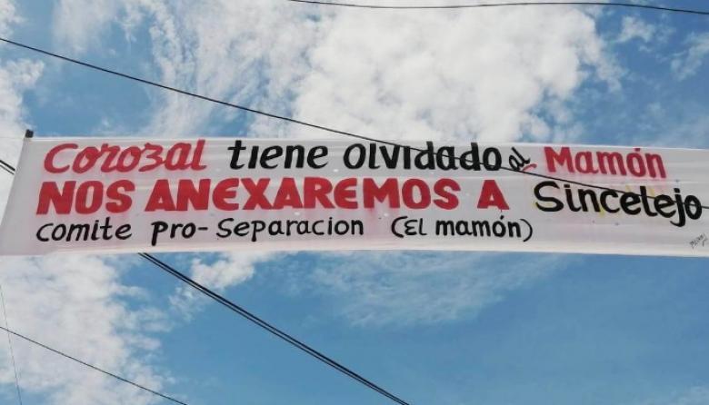 La lucha separatista de El Mamón, en Corozal