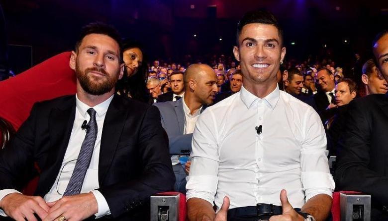 Lionel Messi y Cristiano Ronaldo entraron a la lista de nominados al 'Dream Team' de France Football.