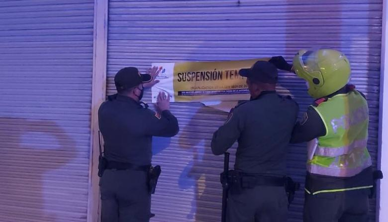 En Montería cierran bares por no cumplir con los protocolos de bioseguridad
