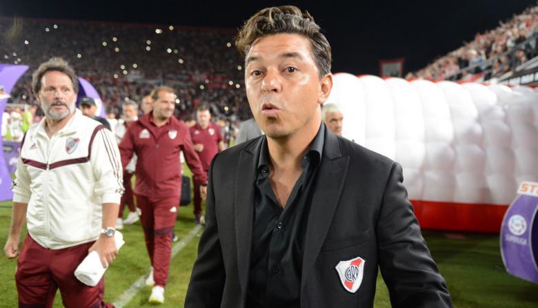 Marcelo Gallardo, técnico de River Plate.