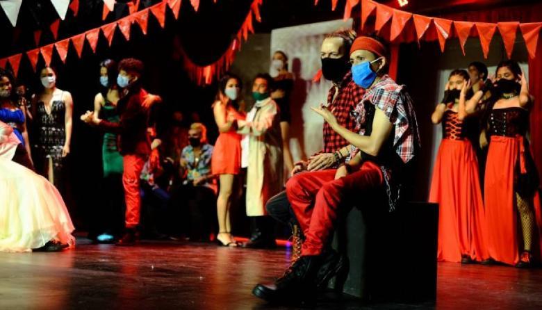 Los shows fueron grabados con semanas de anterioridad respetando las medidas de bioseguridad.