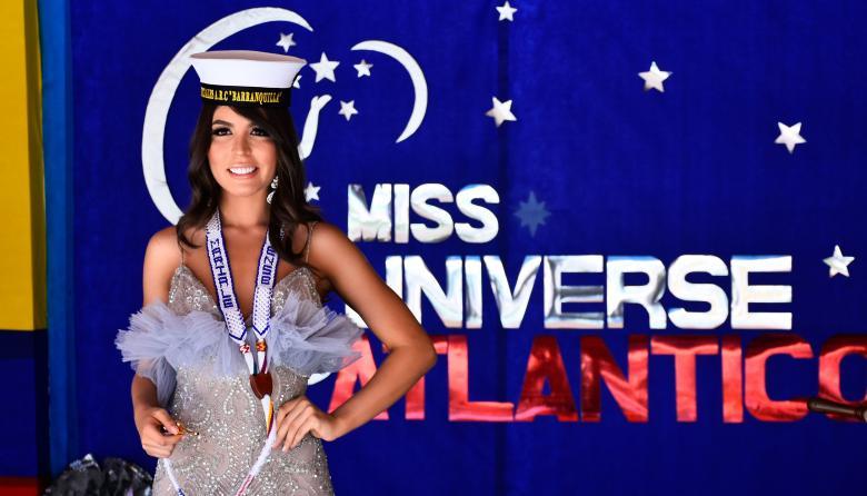 Miss Universe Atlántico es la Soberana de los Marinos 2020