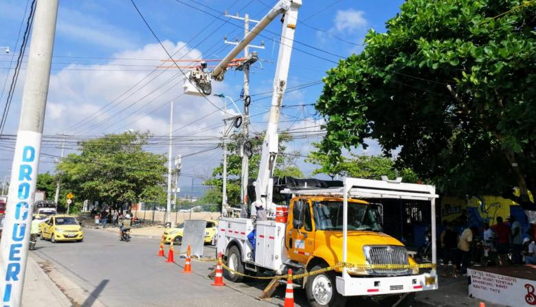 Air-e anuncia obras de mantenimiento en Barranquilla este jueves