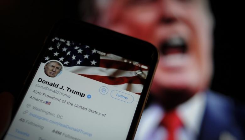 'Trato especial' de Trump en Twitter terminaría si pierde la presidencia