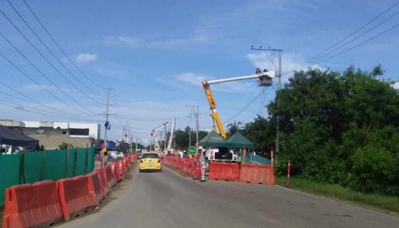 Concesión Costera reubica redes eléctricas en el corregimiento de La Playa