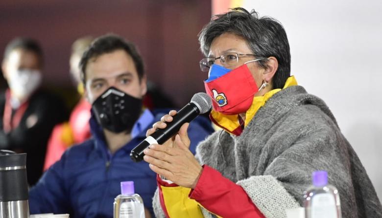 """Parlamento venezolano pide a Claudia López retirar palabras """"xenófobas"""""""