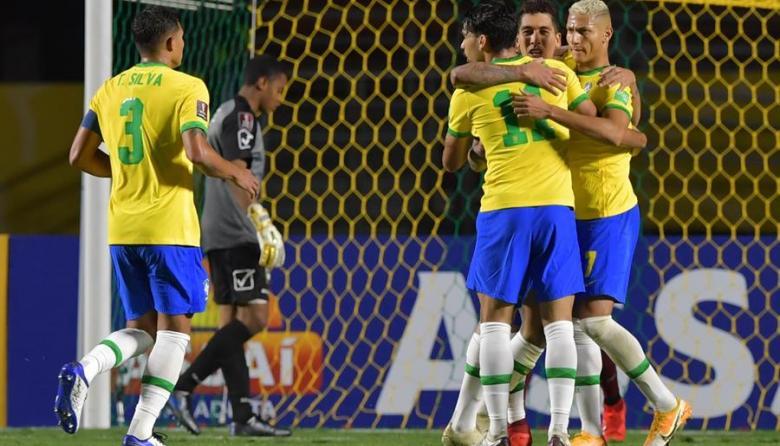 Brasil vence 1-0 a Venezuela y sigue con puntaje perfecto en la Eliminatoria