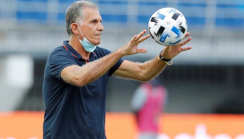 Carlos Queiroz sufrió su primera derrota como director técnico de la Selección Colombia en Eliminatoria.